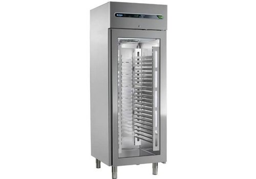 Afinox Forced Commercial Cooling with Glass door 700 liters 73x54x209cm