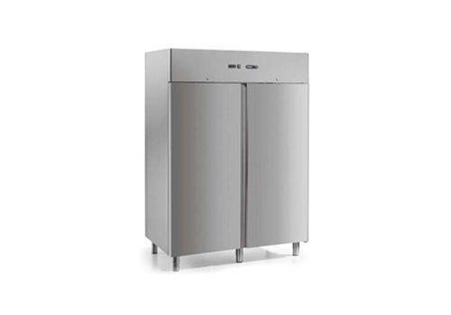 Afinox Bedrijfskoelkast Geforceerd | RVS | 2 deuren | 1400 Liter