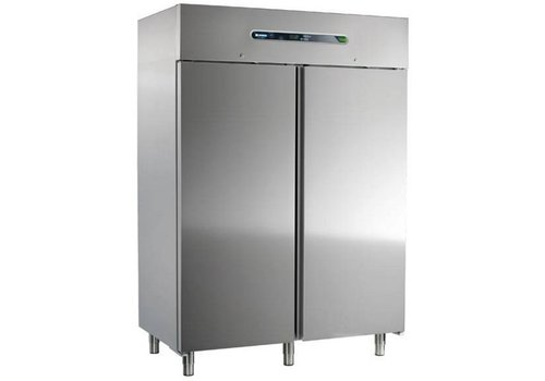 Afinox Forced Fridge | Stainless steel 2 doors | 1400 liters 147x84x209cm