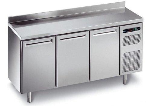 Afinox Forced Freeze Workbench mit 3 Türen 182x70x90 cm
