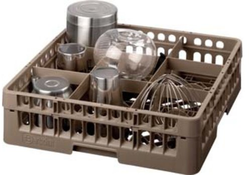 Bartscher Washing basket 9 compartments | 50 x 50 cm