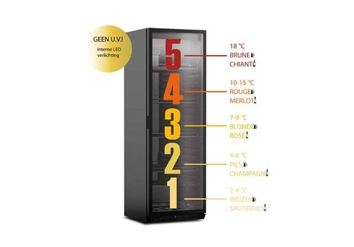 Framec Refrigerator for Special Beers / Wines - 5 Areas