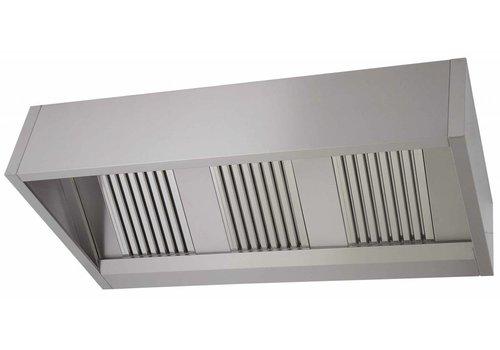 Combisteel Steam hood stainless steel | 150 x 100 x 40 cm