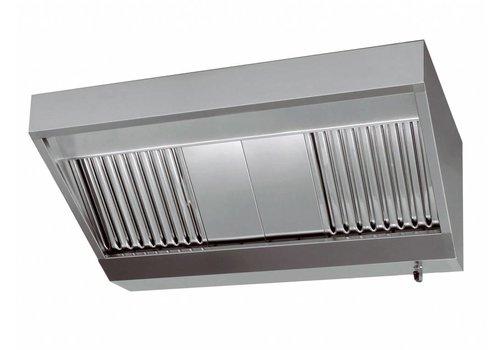 Combisteel Afzuigkappen Zonder Motor 4 filters | 240x110x45cm