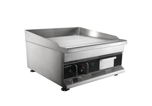 Combisteel Electric Griddle Smooth Stainless Steel | 50x52cm
