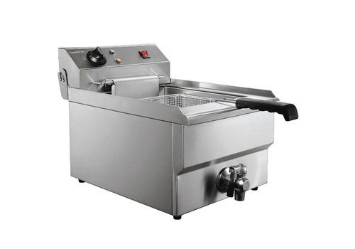 Combisteel Elektrische Tisch-Friteuse 1 x 8 Liter