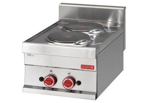 Gastro-M Electric cooker stainless steel | 2 ring