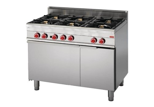Gastro-M Professional Cookware with Strong Gas oven   6 Burners