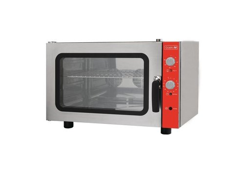 Gastro-M Convection oven with humidifier | 4 x 60 x 40 cm grids 400V