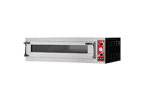 Gastro-M Pizza oven With 1 Chamber | 3 pizzas