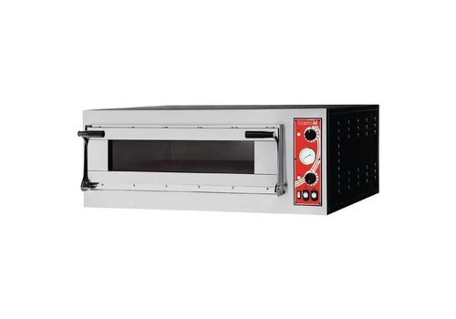 Gastro-M SS Pizza Oven 1 Oven Room 3000 Watt | 4 Pizzas