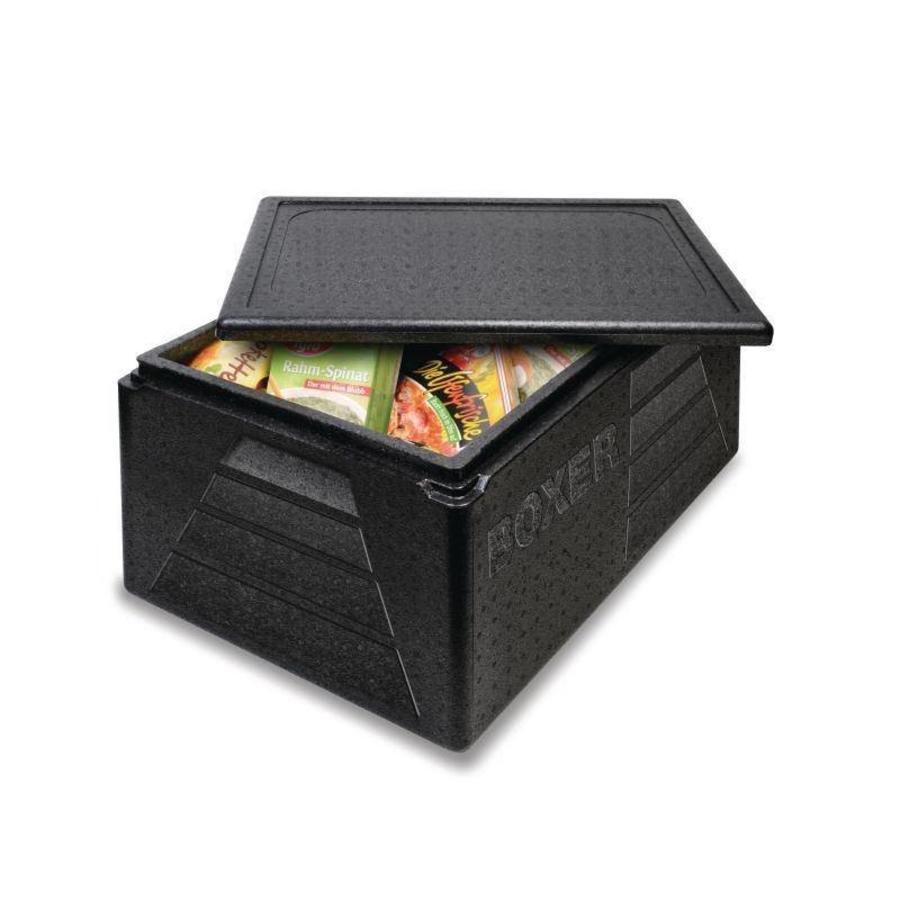 Thermobox Polypropyleen   Zwart
