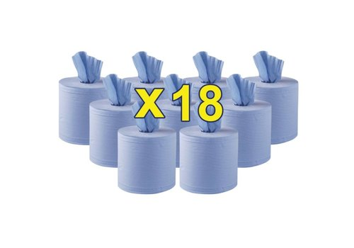 HorecaTraders Towel rolls 2 colors 18 rolls