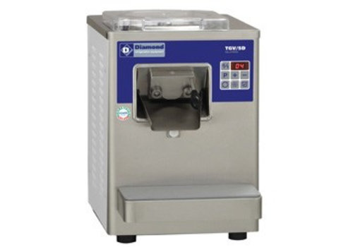 Diamond Ice Machine 10 liters per hour with air capacitor