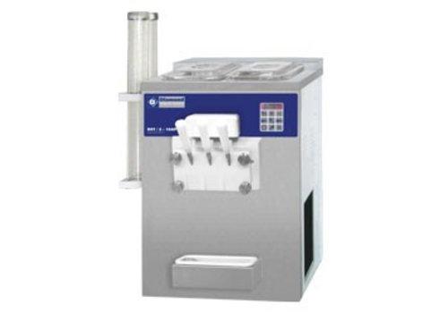 Diamond Eis-Maschine mit zwei Aromen 23 kg pro Stunde