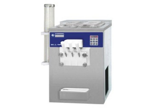 Diamond Ice cream machine with two flavors 23 kg per hour