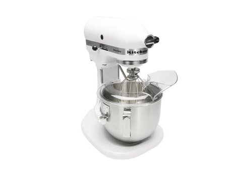 Kitchenaid White K5 Commercial Mixer