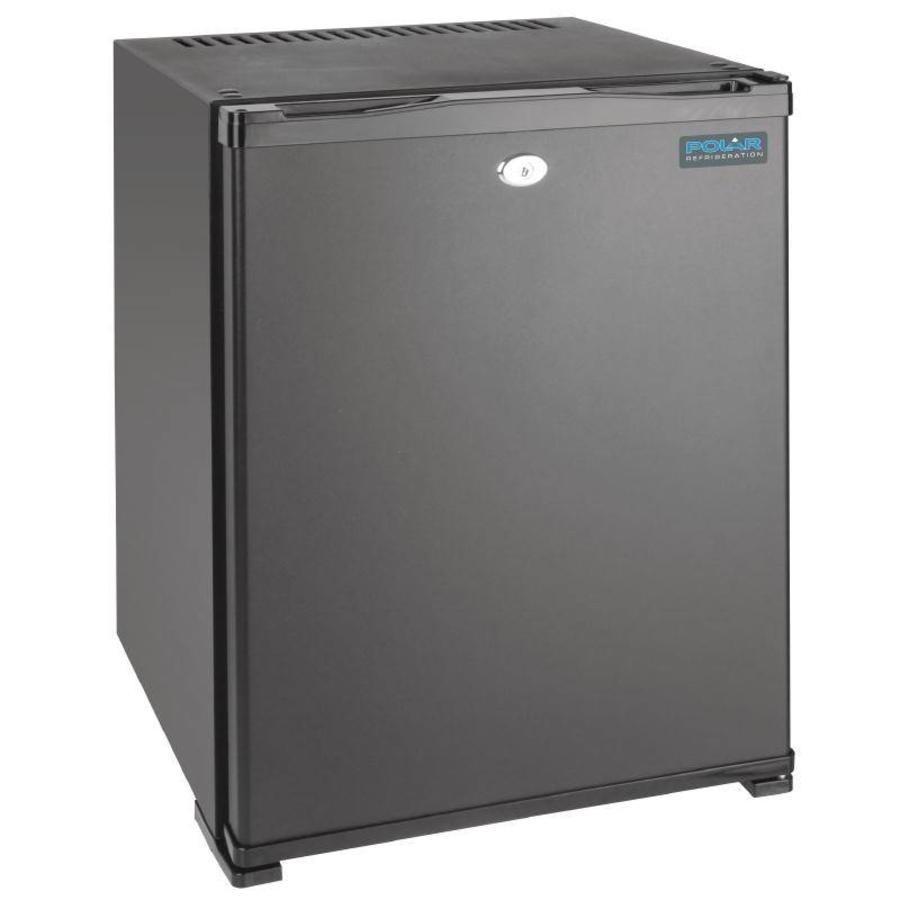 Mini fridge with 30-liter lock Steel - BEST SOLD