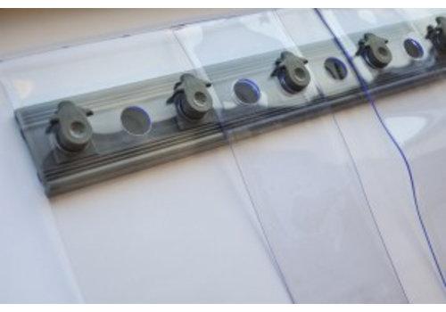 HorecaTraders Streifenvorhänge für Kühlraum / Gefrierraum