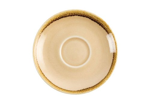 Olympia Sandstone cappuccino dishes 14cm (6 pieces)