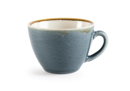 Olympia Blue porcelain cappuccino cups 23cl (6 pieces)