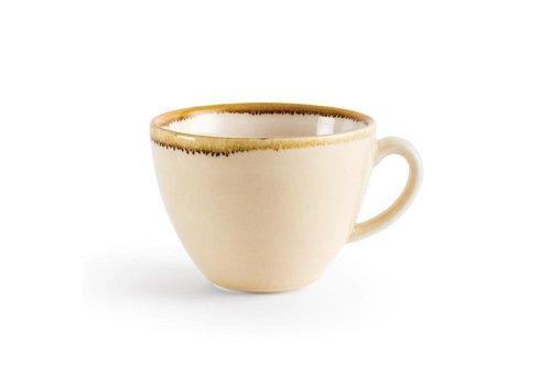 Olympia Sandstein Porzellan Cappuccino-Tassen 23cl (6 Stück)