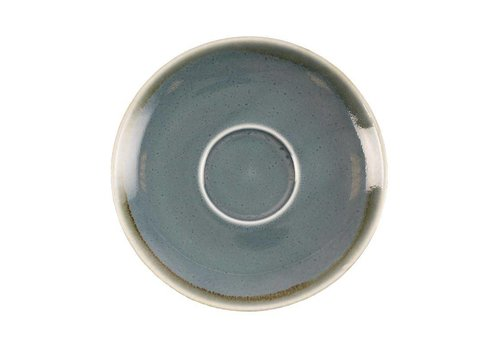 Olympia Blue porcelain cappuccino dishes 14cm (6 pieces)