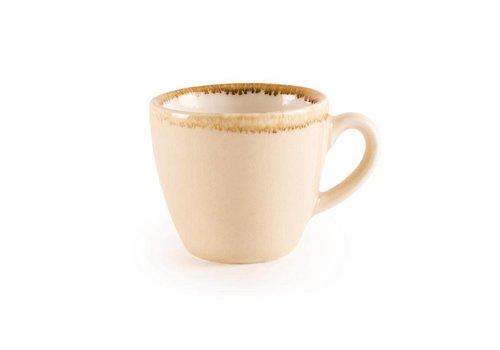 Olympia Sandstone porcelain espresso cups 8,5cl (6 pieces)