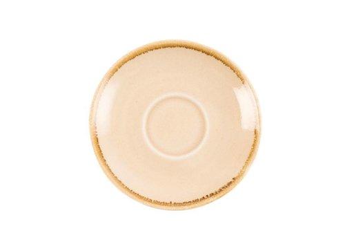 Olympia Sandstone porcelain espresso dishes 11,5cm (6 pieces)