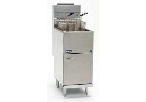 Pitco Fryer Gas Propane Milivolt 35C 18 liters