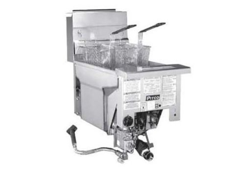 Pitco Drop-in Fryer Gas Milivolt SG14DI