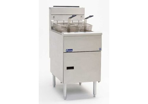 Pitco Fryer Gas Milivolt SG18S
