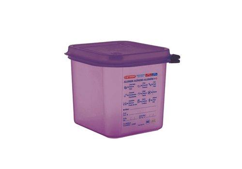 Araven Lebensmittelbehälter aus Polypropylen 4 Formate