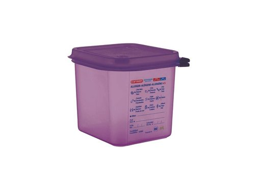Araven Polypropylene food box 4 Formats