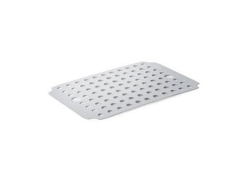 HorecaTraders Stainless Drip grid | 35 x 24 x 6 cm