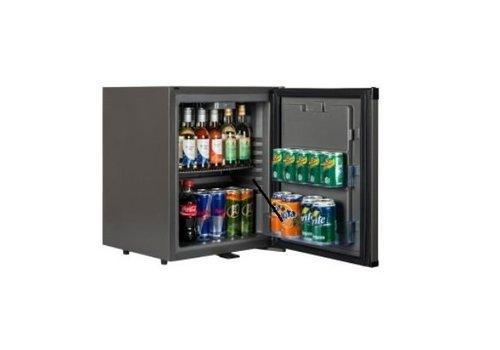 HorecaTraders Small Refrigerators Black Silent 51 Liters