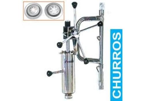 Diamond Churros Machine met doseerder en wandbevestiging