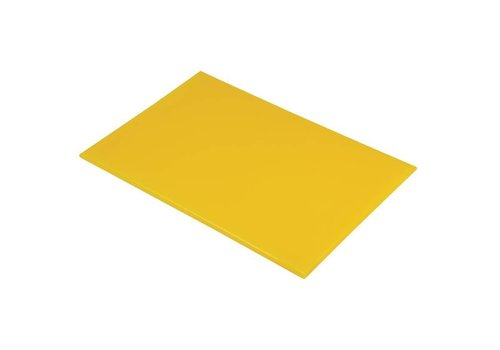 HorecaTraders Snijplank  kunststof | 60 x 40 x 2 cm | 6 Kleuren