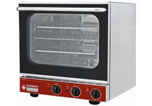 Diamond Convection oven 4x 43x33cm + salamander