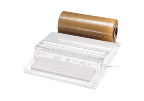 HorecaTraders Lebensmittel-Verpackungsfolien, Länge 1500 m, Breite 400 mm