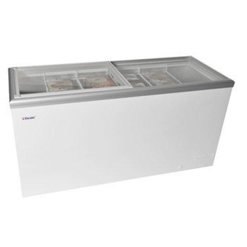 Liebherr freezers with sliding lid