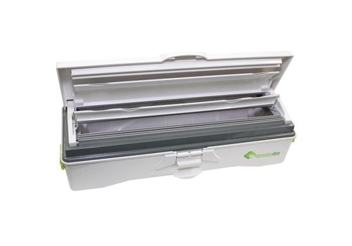 HorecaTraders Duo Backpapierspender | Aluminiumfolie Dispenser