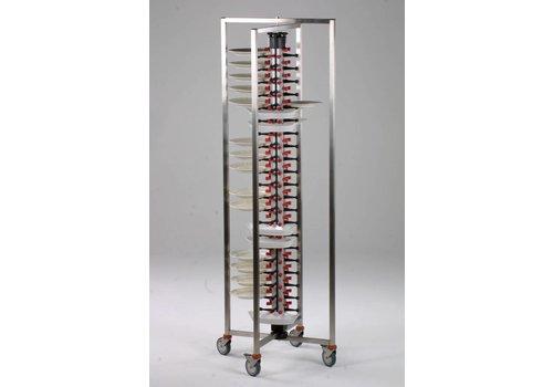 HorecaTraders Folding plate rack | 3 formats