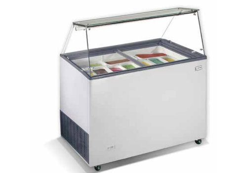 HorecaTraders Scoop Eis-Display | 90x65x123 cm