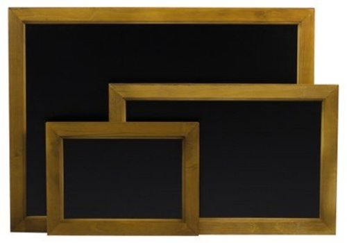 Hendi Muurmodel Krijtbord Zwart | 3 Formaten