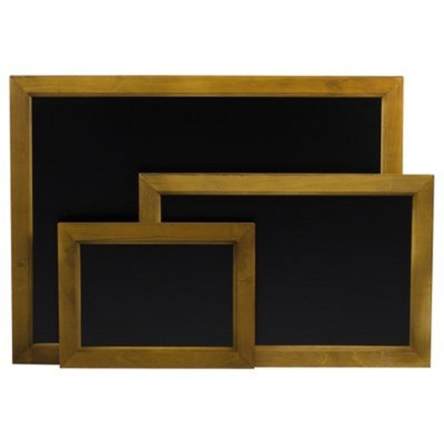 Muurmodel Krijtbord Zwart | 3 Formaten