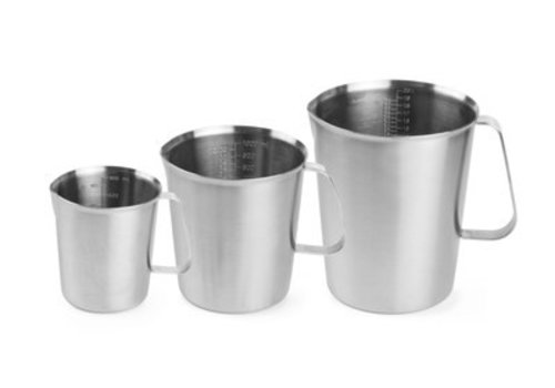 Hendi Stainless steel measuring cup 3 formats