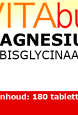 Vitabus Magnesium Bisglycinaat extra sterk  180 vegetarische tabletten.
