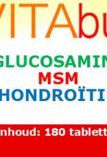 Vitabus Glucosamine MSM Chondroitine  180 tabletten