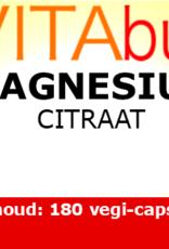 Vitabus Magnesium Citraat 180 vegetarische capsules